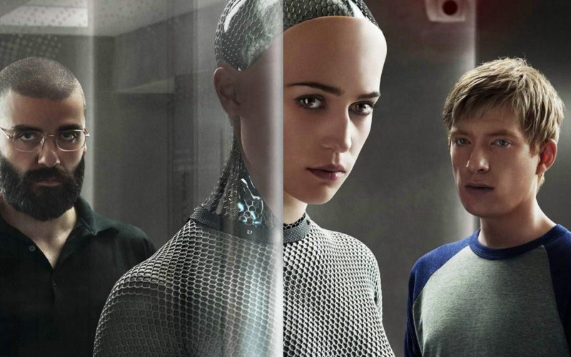film ex machina fascinujici scifi